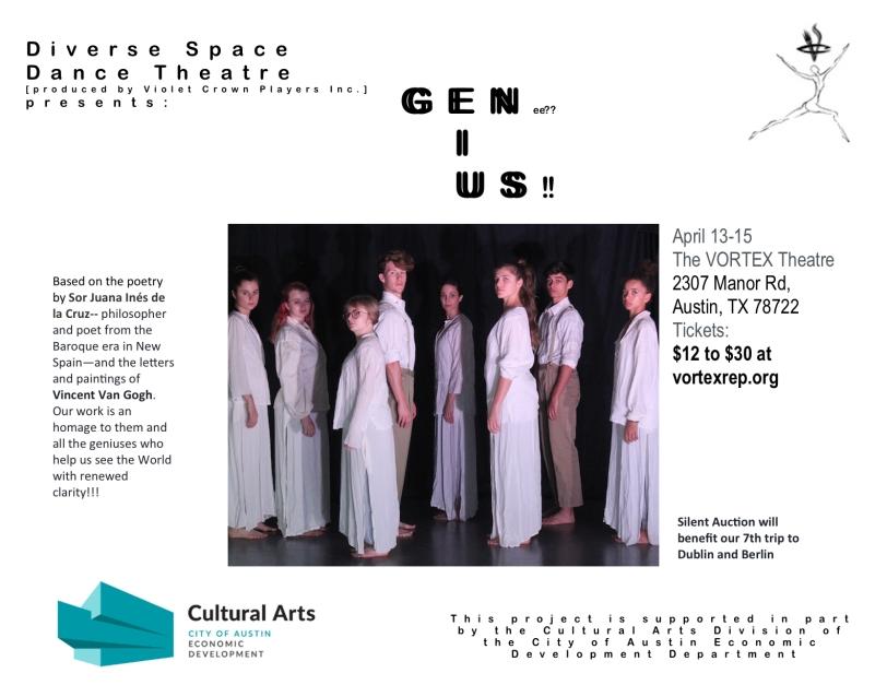 Genius April Poster copy 2
